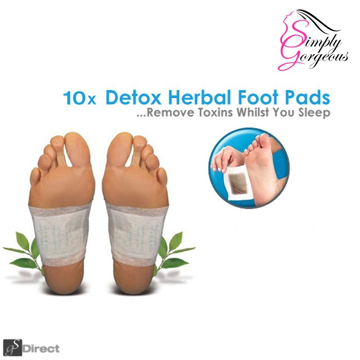 10 X Detox Cleansing Foot Pads Patches
