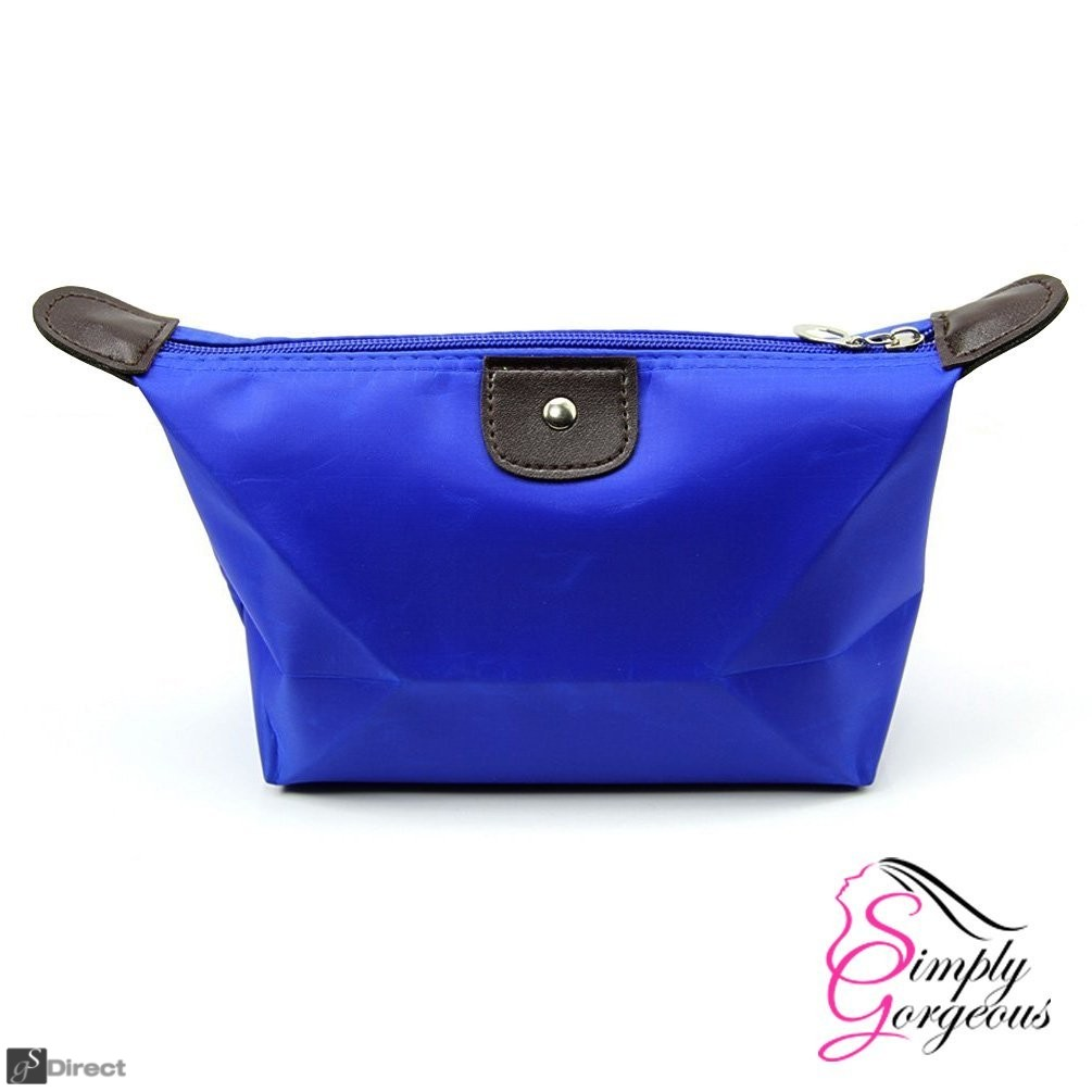 Waterproof Cosmetic Makeup Bag - Blue