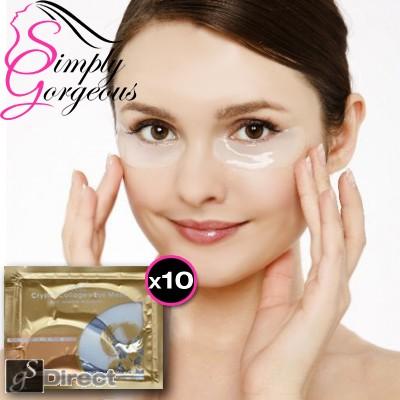 Collagen Crystal Eye Mask Anti Wrinkle Moisture 10 Pairs
