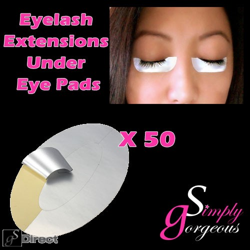 Simply Gorgeous 50 pairs Eyelash Extension Pads