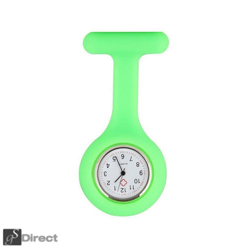 Silicone Fob Watch - Green