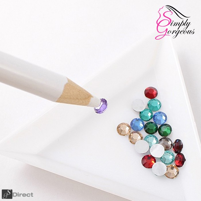 Rhinestone Gem Crystal Wax Pencil Picker For Nail Art