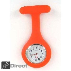 Silicone Fob Watch - Orange
