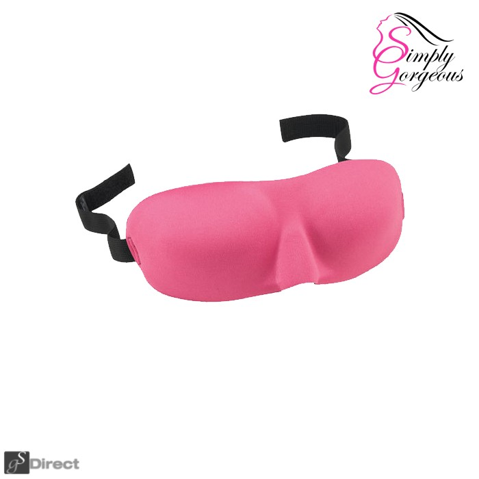 Simply Gorgeous Luxurious 3D Sleep Eye Mask - Rose Pink