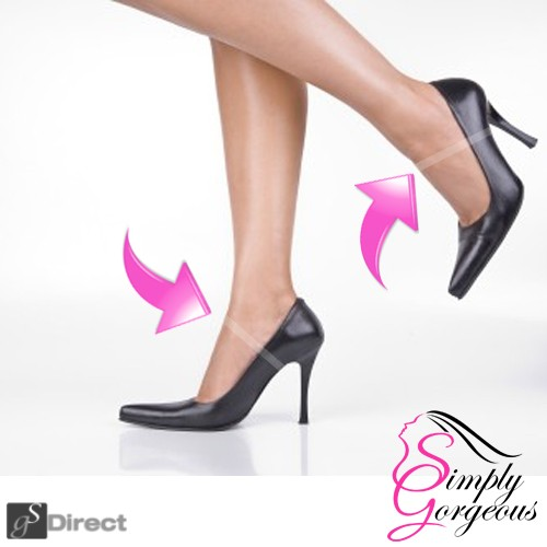 1 Pair Transparent Invisible Shoe Straps