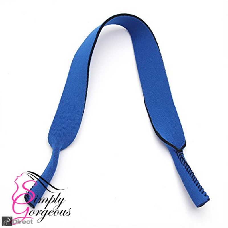 Glasses / Sunglasses Neoprene Neck Strap - Blue
