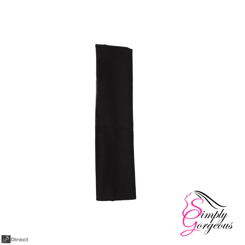 Stretch Hair Elastic Kylie Yoga Headband - Black