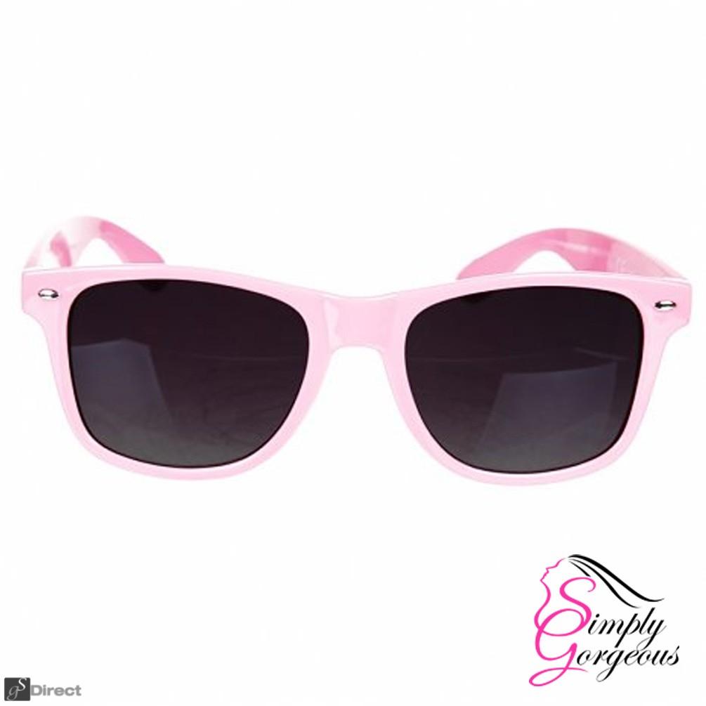 Classic Vintage Retro Aviator Sunglasses - Pink