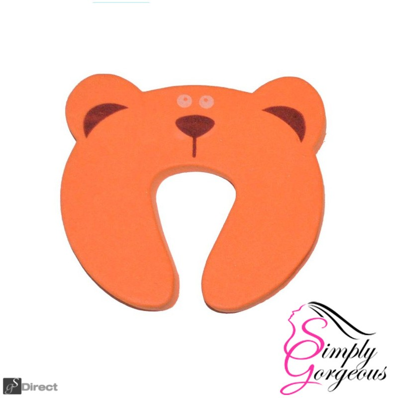 Baby Safety Animal Door Protector -  Bear
