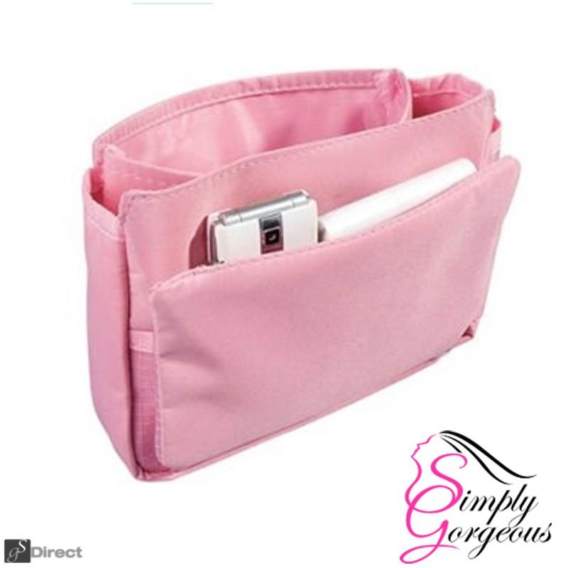 Ladies Handbag Organiser - Pink