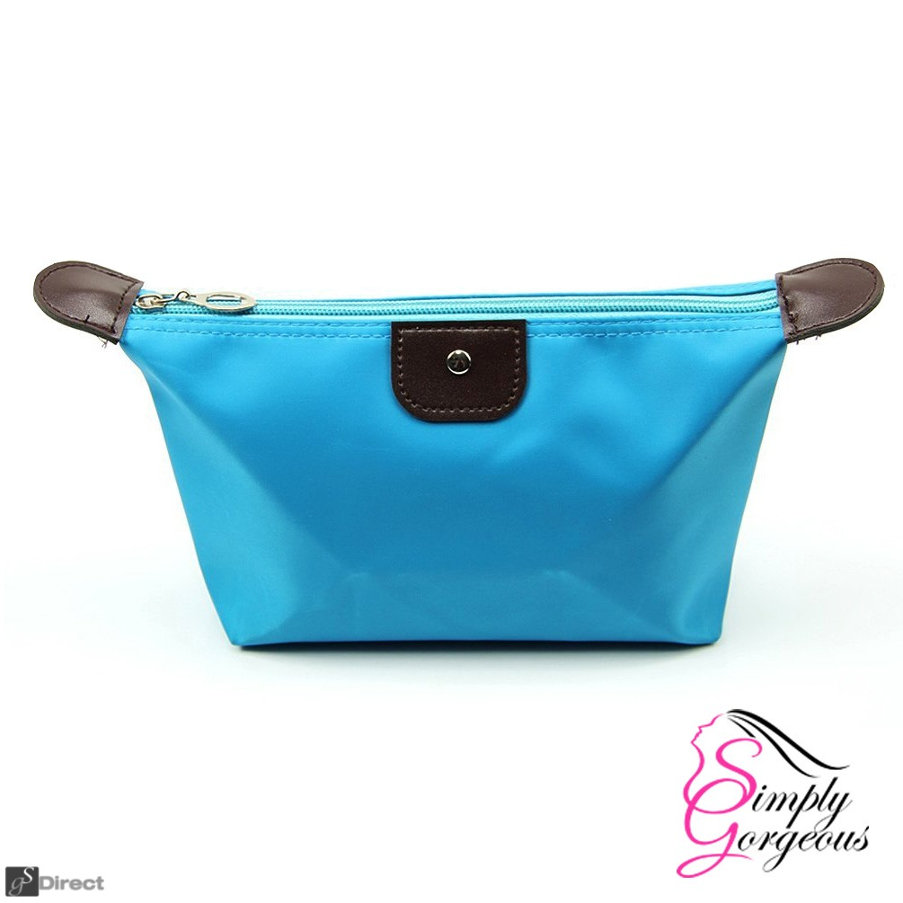 Waterproof Cosmetic Makeup Bag - Light Blue