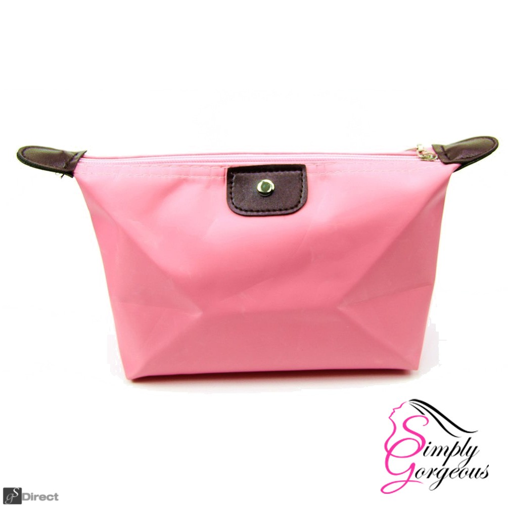 Waterproof Cosmetic Makeup Bag - Pink