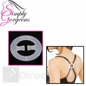 Simply Gorgeous Bra Clip X 3 Clear