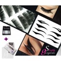 Simply Gorgeous Handmade Eyelashes and Eyeliner Tattoos Combo