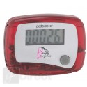 DIGITAL LCD PEDOMETER - RED