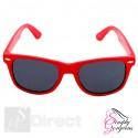 Classic Vintage Retro Aviator Sunglasses - Red