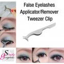 Simply Gorgeous False Eyelashes Applicator Remover Tweezer Clip