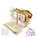 Ladies Handbag Organiser - Beige