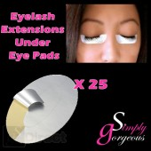 Simply Gorgeous 25 pairs Eyelash Extension Pads