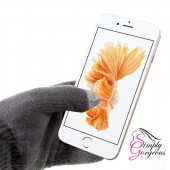 Unisex Winter Touch Screen Gloves For iPhone iPad Smart Phones, Tablets Etc - Grey