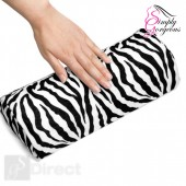Soft Zebra Stripe Hand Rest Cushion Pillow For Nail Art