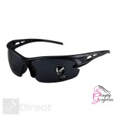 Cycling Riding Outdoor Sports UV Protective Goggles Glasses - Black Lens
