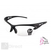 Cycling Riding Outdoor Sports UV Protective Goggles Glasses - Clear Lens